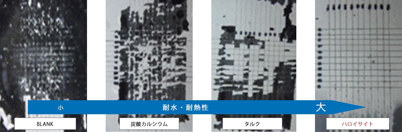 水性エポキシ塗膜 - ガラス・20時間煮沸・碁盤目試験(JIS K 5400-8.5)