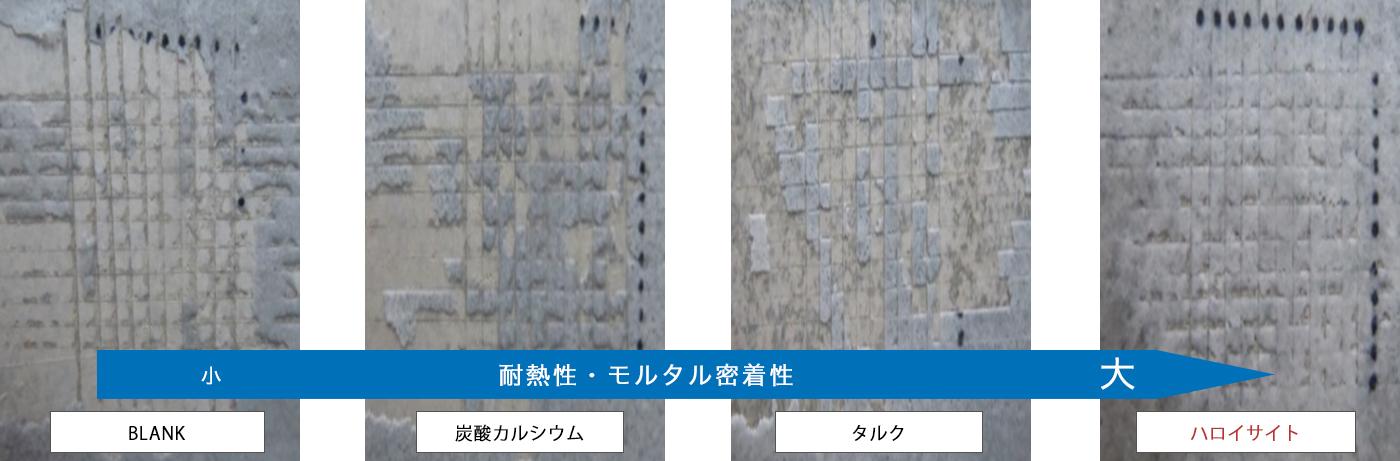 水性エポキシ塗膜 - モルタル・32時間煮沸・碁盤目試験(JIS K 5400-8.5)